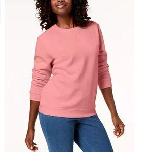 Karen Scott Sport Macy's Plus Crew Sweatshirt 0X